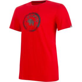 Mammut Seile Miehet Lyhythihainen paita , punainen